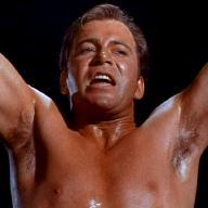 Shirtless Kirk