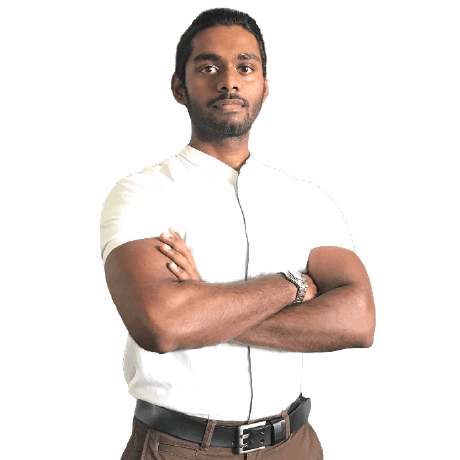 a portrait of ashen gunaratne