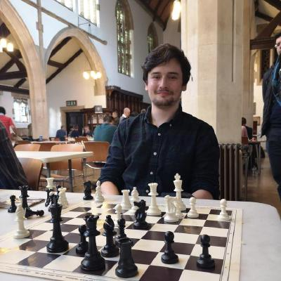 picture of me (winning golders green blitz chess tournament-third division)