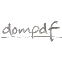 @dompdf