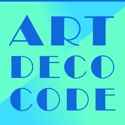 Art Deco Code Logo