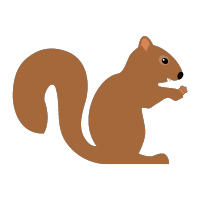 Squirrelly Logo